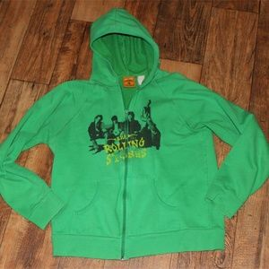 Other - The Rolling Stones Green Hoodie